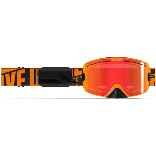 Очки 509 Kingpin Ignite с подогревом, Particle Orange