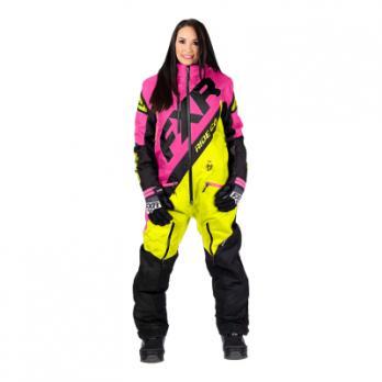 Комбинезон FXR CX без утеплителя, женский (Elec Pink/Hi Vis/Black)
