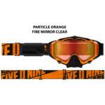 Очки 509 Sinister X5 Ignite с подогревом, Particle Orange