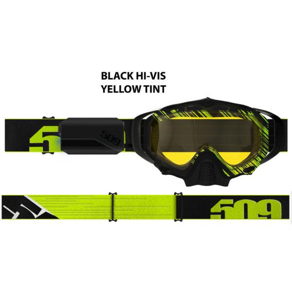 Очки 509 Sinister X5 Ignite с подогревом, Hi-Vis Black