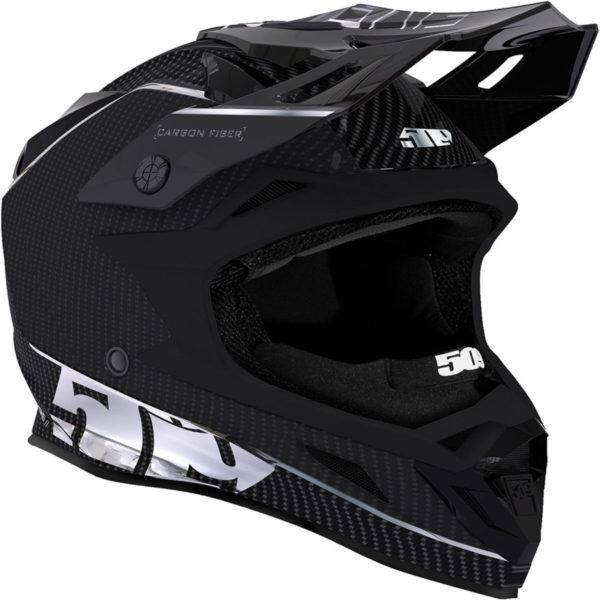 Шлем 509 Altitude Carbon Fidlock, Division Silver