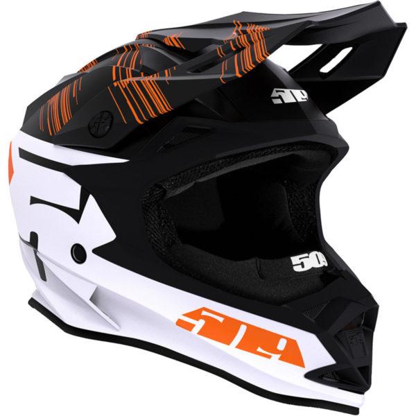 Шлем 509 Altitude Fidlock® Particle Orange