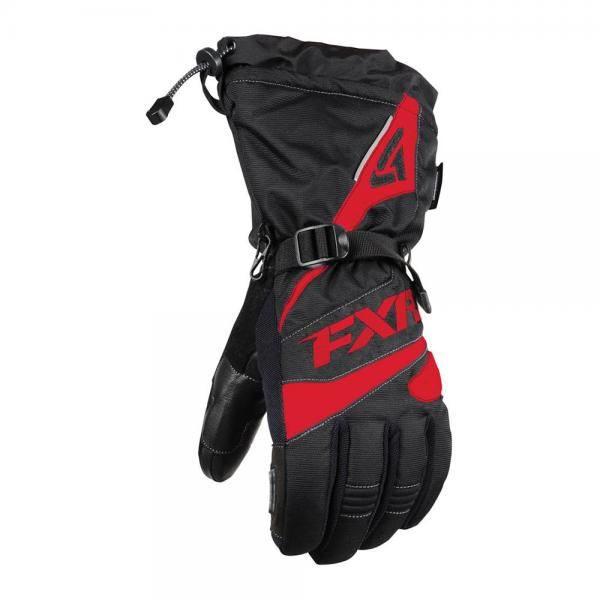 Перчатки FXR Fuel с утеплителем, мужские (Black/Red)