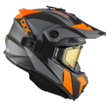 "Шлем снегоходный бэккантри CKX TITAN SIDEHILL с очками CKX 210"" TACTICAL оранжевый мат."