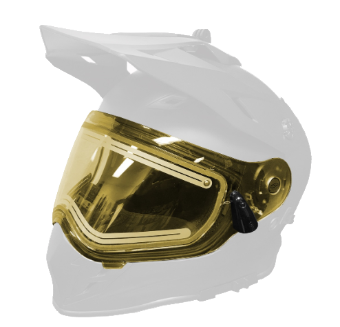 Визор 509 Delta R3 с подогроевом, Yellow Tint