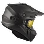Шлем снегоходный бэккантри CKX TITAN SOLID черный матовый
