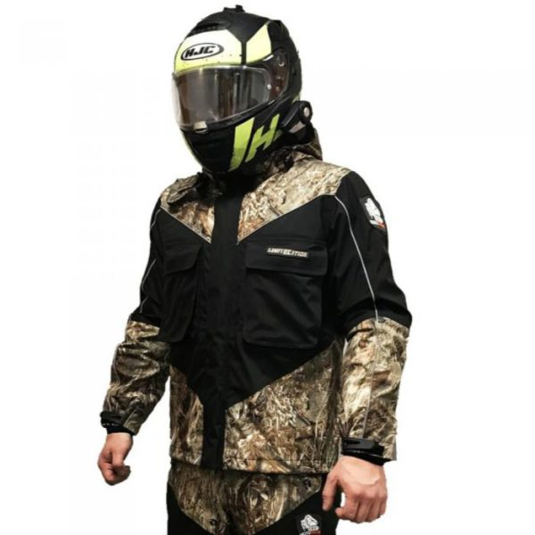 Куртка Motoraive HUNTER CAMO цвет камуфляж/черн, с защитой, материал мембрана