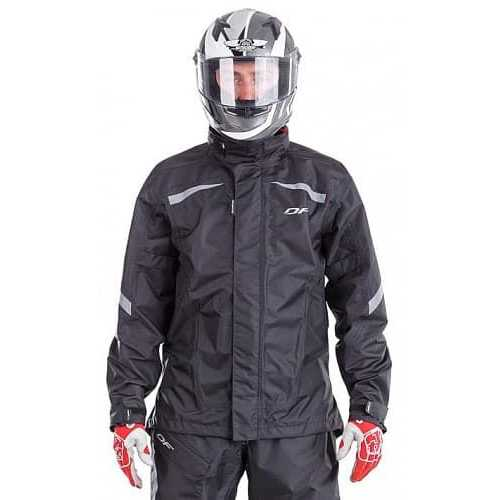 Куртка - дождевик Dragonfly EVO BLACK (мембрана)