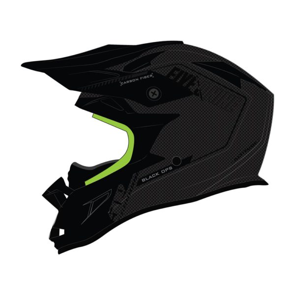 Шлем 509 Altitude Carbon 3K Fidlock Black Ops Lime