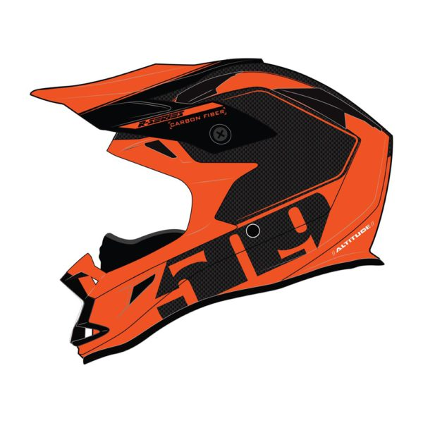 Шлем 509 Altitude Carbon Fidlock R-Series,Orange