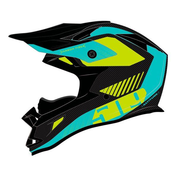 Шлем 509 Altitude Carbon Fidlock,Teal