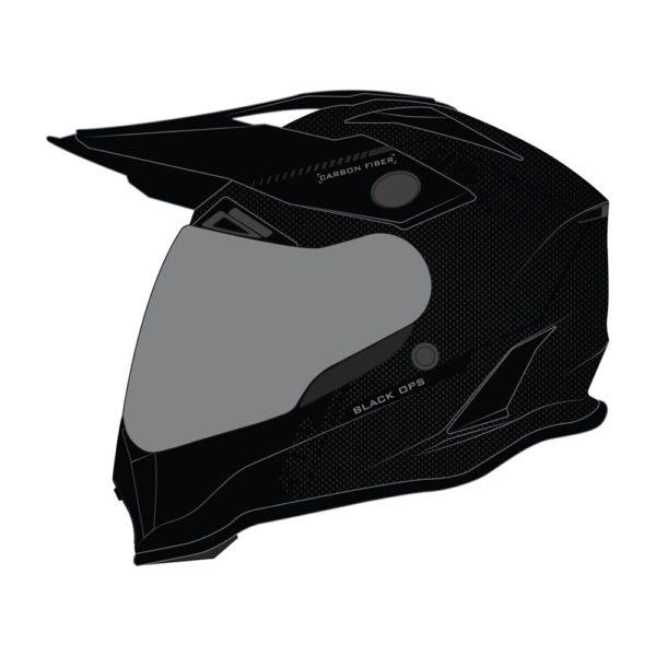 Шлем 509 Delta R3 Carbon Fidlock® (ECE), (Black Ops,