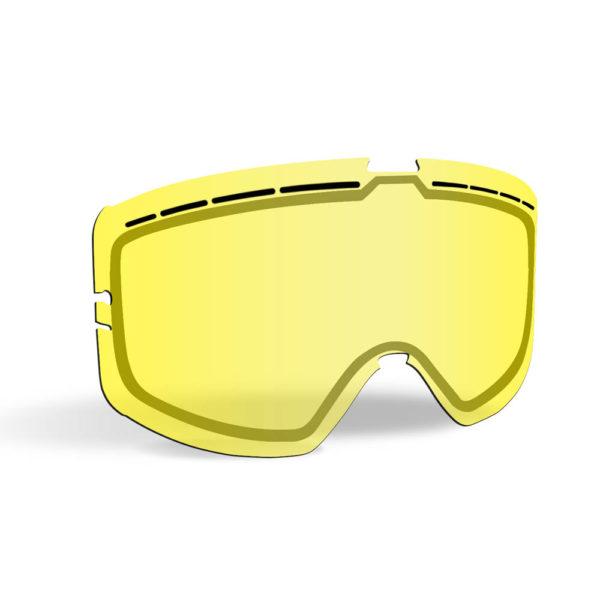 Линза 509 Kingpin Ignite, с подогревом (Yellow Tint)