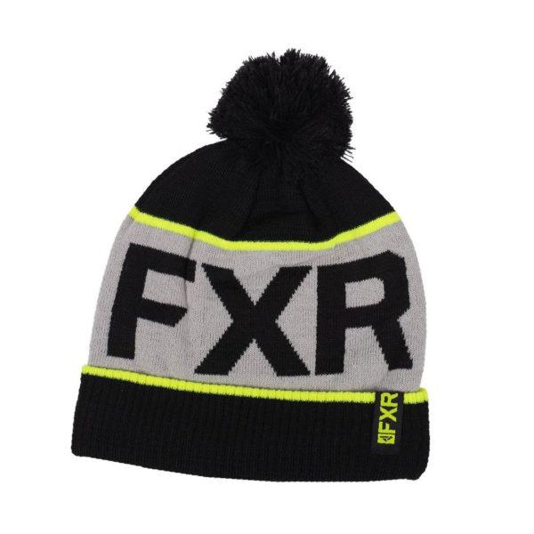 Шапка FXR Excursion, взрослые, унисекс (Black/Hi Vis, OS)