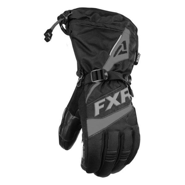 Перчатки FXR Fuel с утеплителем, взрослые, муж. (Black Ops)