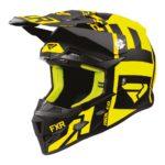 Шлем FXR Clutch Evo, детский (Black/Hi Vis)