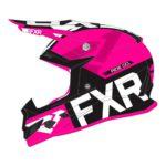 Шлем FXR Clutch Evo, детский (Black/Fuchsia, L)
