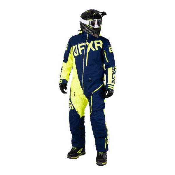 Комбинезон FXR Ranger Instinct без утеплителя, взрослые, муж. (Navy/Hi Vis)