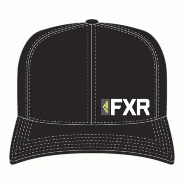 Бейсболка FXR Evo, взрослые, унисекс (Black/Hi Vis, L/XL)