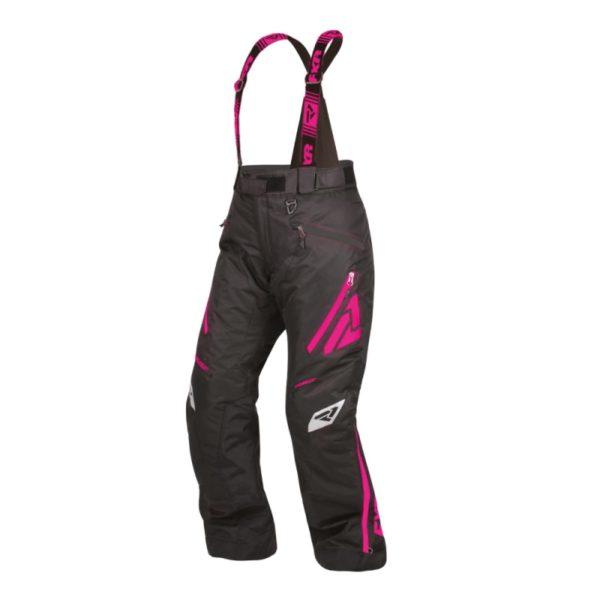 Штаны FXR Fresh с утеплителем, взрослые, жен. (Black/Elec Pink, 4)