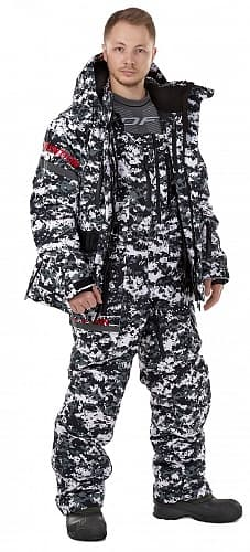 Штаны EXPEDITION Camo-Red 2020