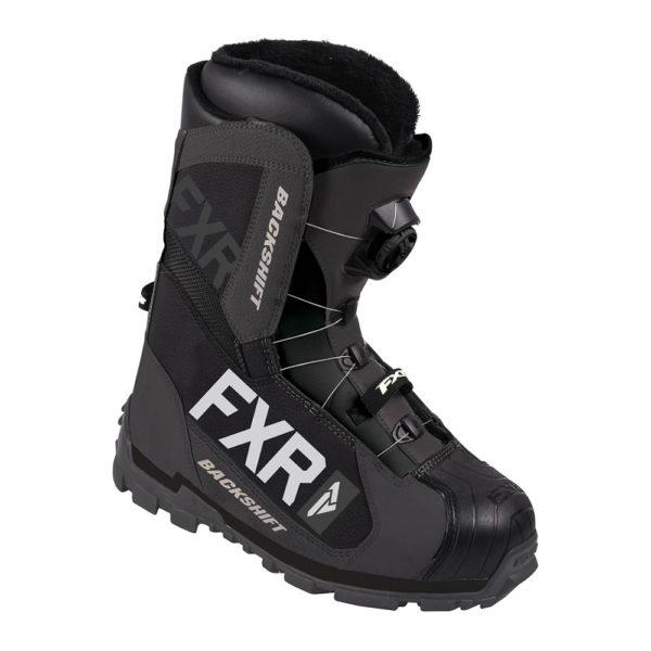 Ботинки FXR Backshift BOA с утеплителем, муж (Black/Char)