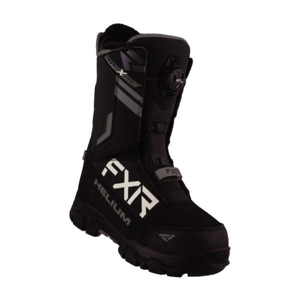 Ботинки FXR Helium BOA с утеплителем, взрослые, унисекс (Black)