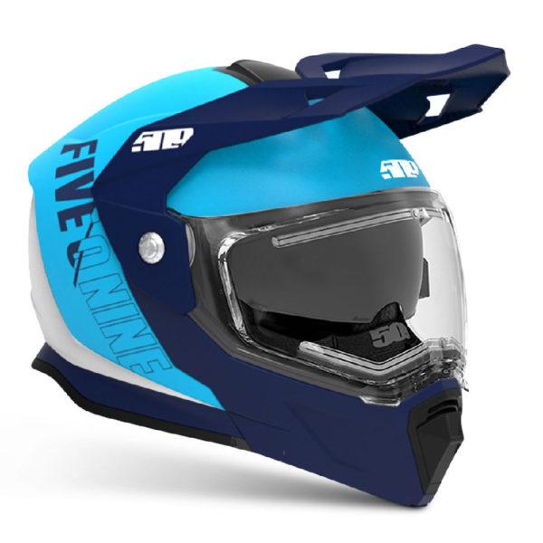 Шлем с подогревом визора 509 Delta R4 Ignite, взрослые (Cyan Navy)