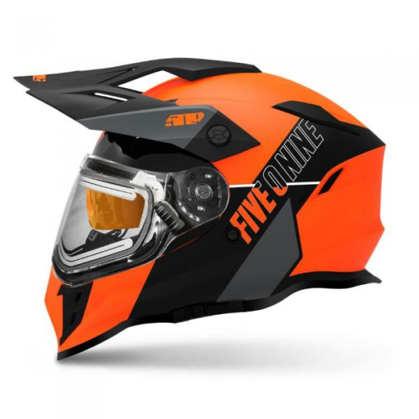 Шлем с подогревом визора 509 Delta R3 Ignite, взрослые (Orange Gray)
