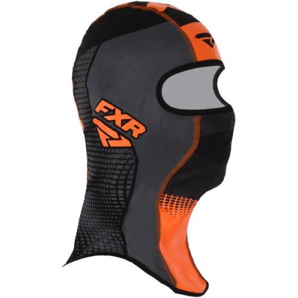 Балаклава FXR Shredder Tech (Black/Char/Orange)