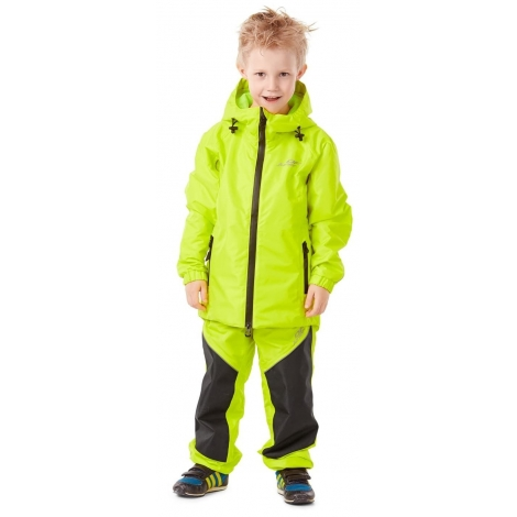 Детский комплект дождевой унисекс (куртка, брюки) EVO Kids YELLOW (мембрана)