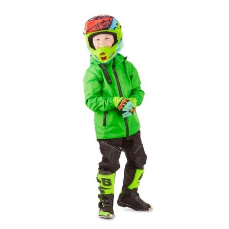 Детский комплект дождевой унисекс (куртка, брюки) EVO Kids GREEN (мембрана)