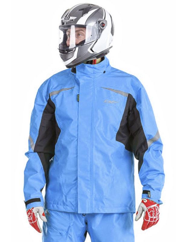 Куртка – дождевик Dragon EVO BLUE (мембрана)