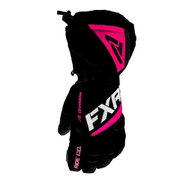Перчатки FXR Fuel с утеплителем (Black/Fuchsia)